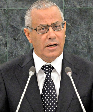 ALI ZEIDAN: The Libyan Prime Minister is stepping up the pressure on protesters.