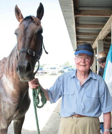 SUCCESSFUL: Murray Faul and Windermere Lad