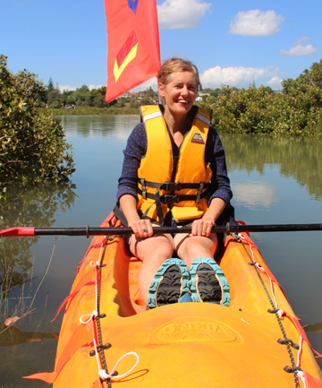 FLOATING CARNIVAL: Organiser Kathy Waghorn is encouraging the community to decorate boats to take part in the Flotilla Whau down the Whau River.