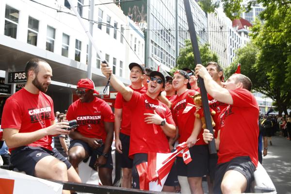 Wellington sevens parade