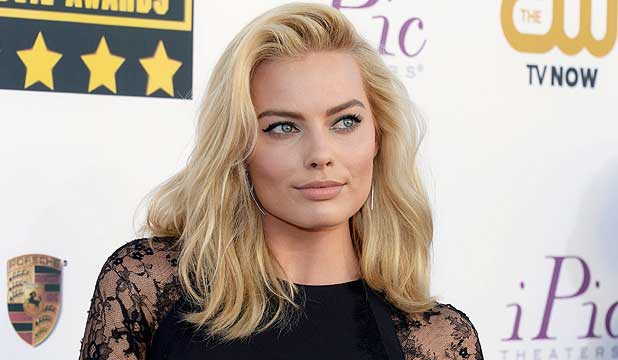 ustralian actress Margot Robbie.