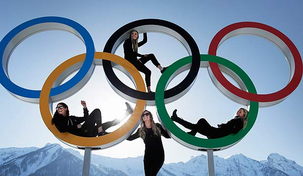HIGH HOPES: Shelly Gotlieb, Stefi Luxton, Christy Prior and Rebecca Torr of New Zealand.