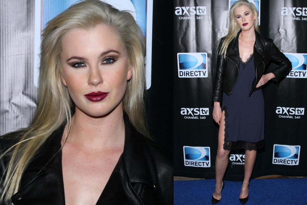 THE BAD: There's no one thing that's terrible about Ireland Baldwin's look (well, maybe the hair) but it is the definition of over-cooked. She's only 18 folks ... this is too much makeup for someone that hasn't hit two decades yet. Nay, it's too much makeup for anyone. Lips or eyes folks. Lips or eyes. PS: The dress (read: nightie) is by Reformation.