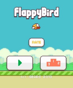SIMPLE BUT ADDICTIVE: Flappy Birds rocketed up the app store charts and is Number 1 in New Zealand.