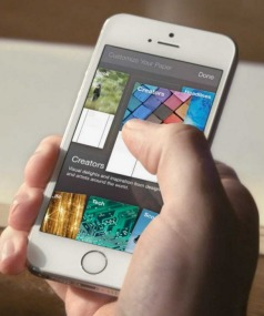 PHOTOCOPY? The new Facebook Paper app.