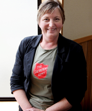 MAKING ENDS MEET: Salvation Army community ministries manager Jane Ferguson said February could be a tough month for some families.
