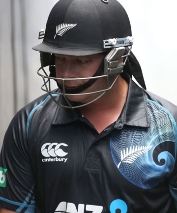 POOR SHOW: Jesse Ryder had returned to New Zealand's ODI squad before the latest incident took place.