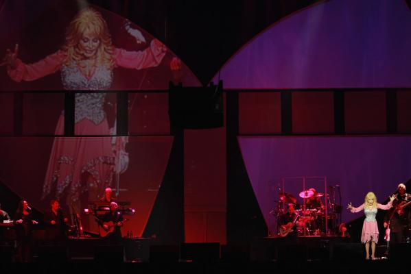 Dolly Parton Vector Arena, February 2014