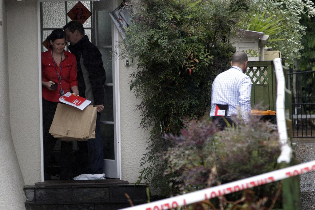 Police continue their investigation into a death at 160 Russell Street in Palmerston North.