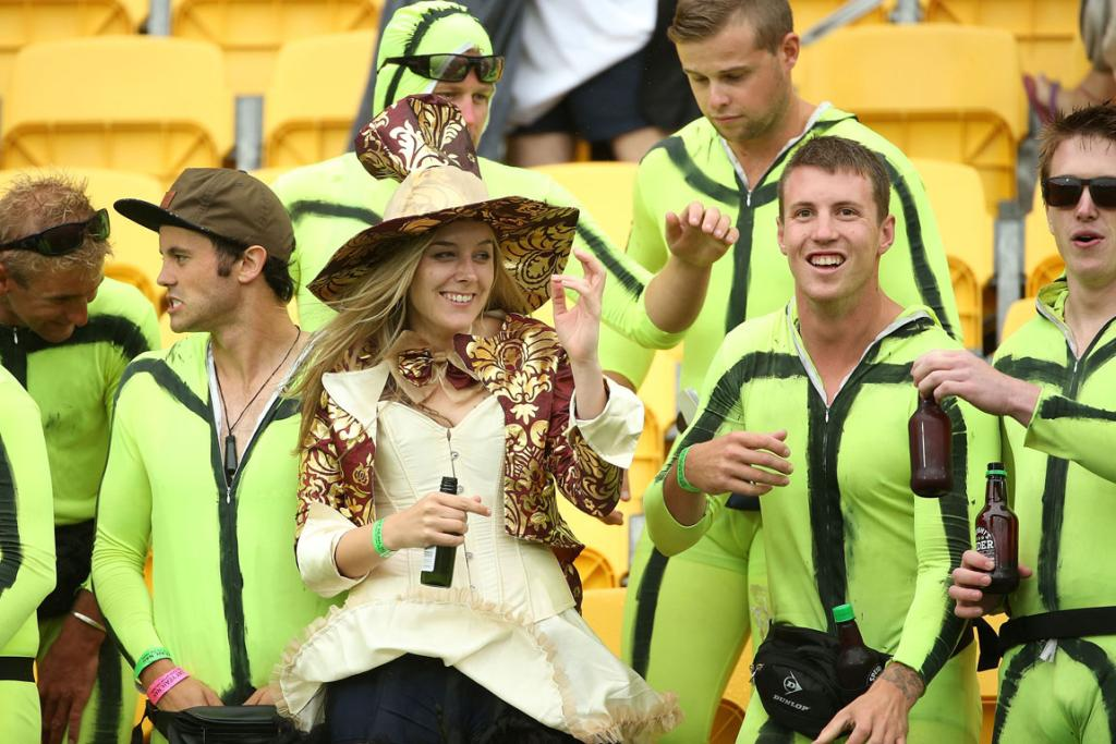 Wellington Sevens costumes 2014: day two