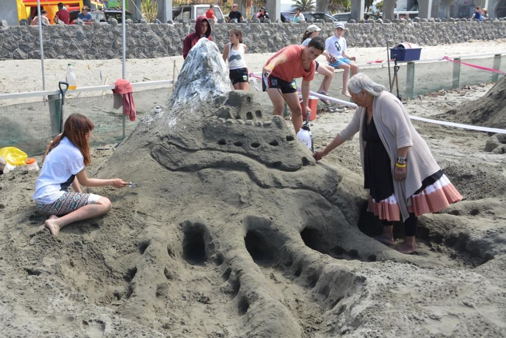 New Brighton Sandcastle Competition 2014