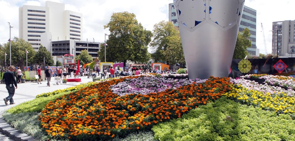 Christchurch Festival of Flowers 2014