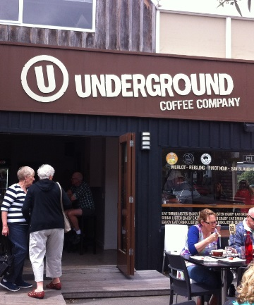 STREET APPEAL: Underground Coffee in Sumner.