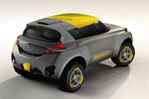 Renault's whacky SUV concept, the KWID.