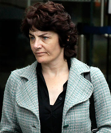 ON TRIAL: Lucille Sarah Scollay, 45, denies a charge of murder.