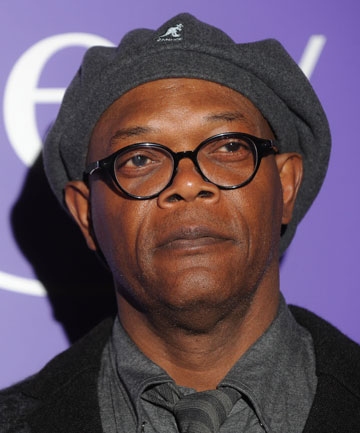 NOT LAURENCE FISHBURNE: Samuel L Jackson did not appear in a Super Bowl ad for Kia cars.