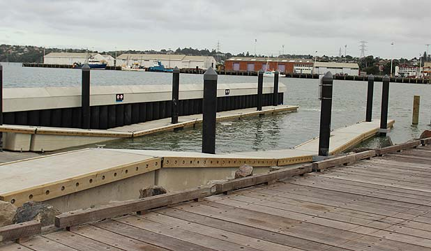 COMPLETE: The new Mangere Bridge boat ramp is finally opened after being closed since April 2013.