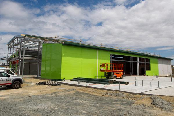 Fast-growing: The $6 million Palmers Planet garden   store  is set to  open next month.