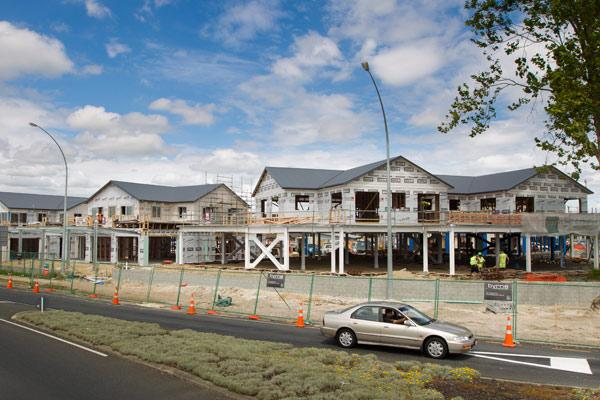 Rising interest: Apartments in this $10m mixed-use are already selling.
