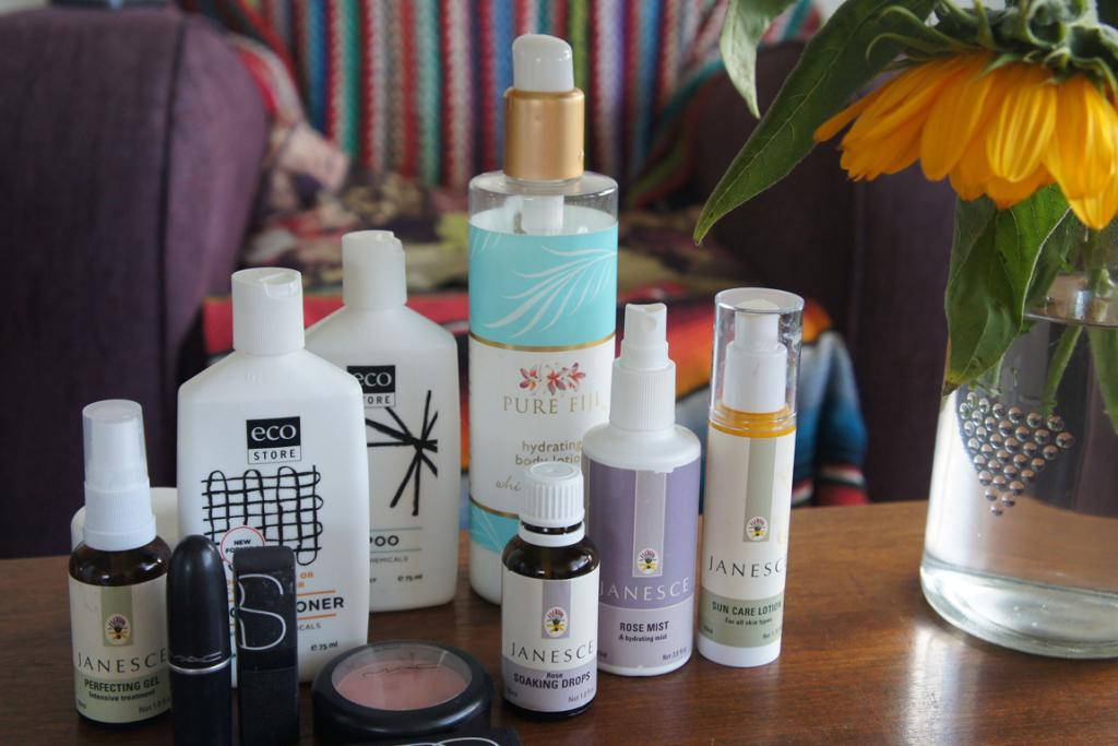 HER TOOLS: Janesce skin products are a favourite of Aidee's, and she can't go past M.A.C and Nars for make-up.