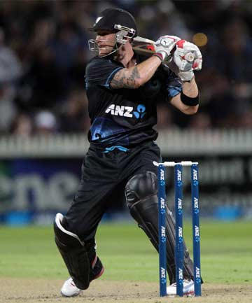 HOT PROPERTY: Brendon McCullum is heading to the Chennai Super Kings in the IPL.