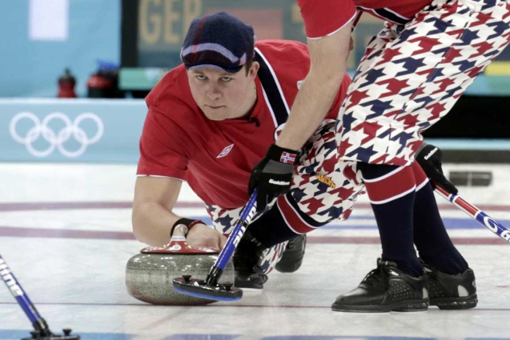 Norwegian curling