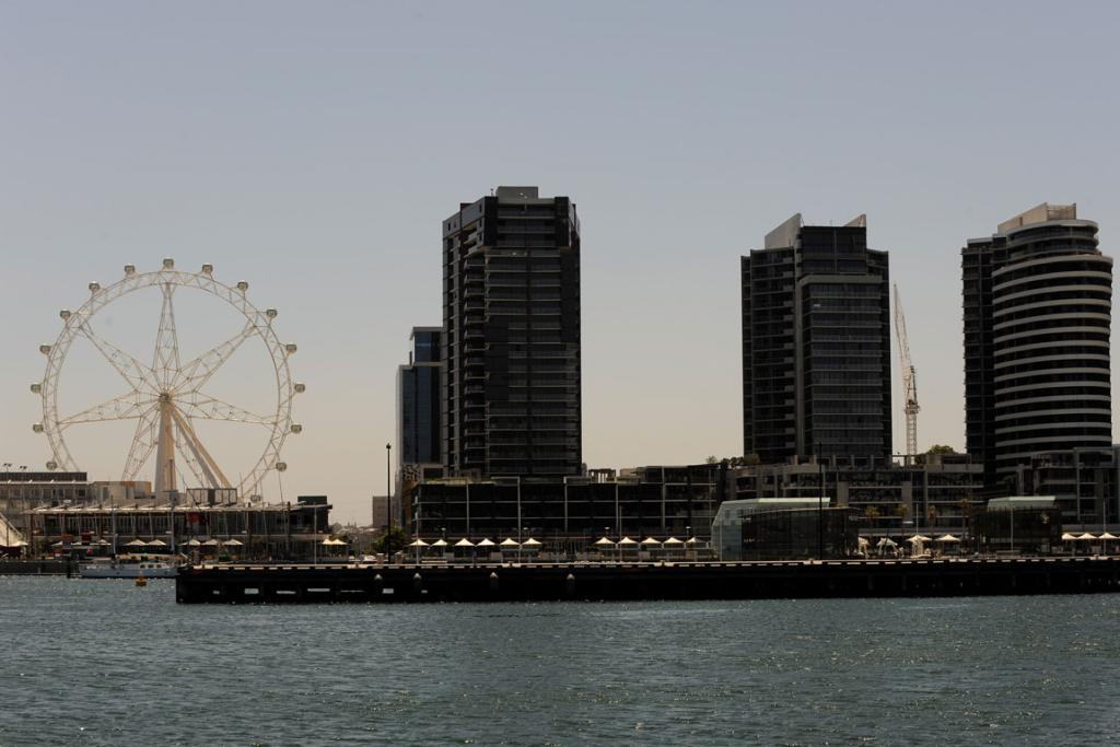 Melbourne's Southern Star Observation Wheel: The white elephant of Melbourne is finally up and spinning.