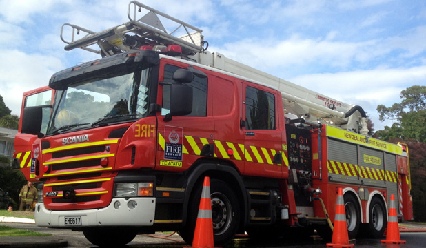 ELECTRICAL FAULT: Three appliances attended a house fire in Te Atatu South.