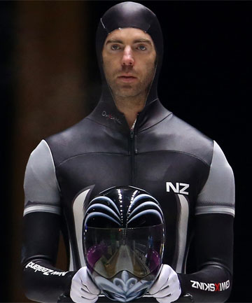 NEED FOR SPORT: New Zealand skeleton racer Ben Sandford is just the third Kiwi to compete at three Winter Games.