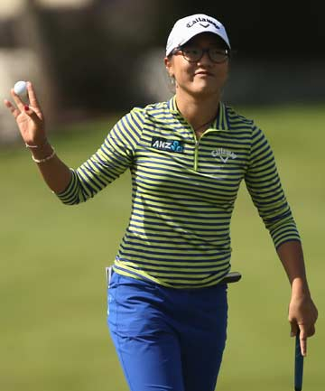 BEST OF THE BEST: Teen golf prodigy Lydia Ko, currently playing in the Australian Open, claimed the sportswoman and supreme awards at the 2013 Halberg Awards.