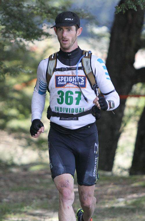 GO BRENDON GO: Brendon Vercoe first, two day individual into Klondyke.