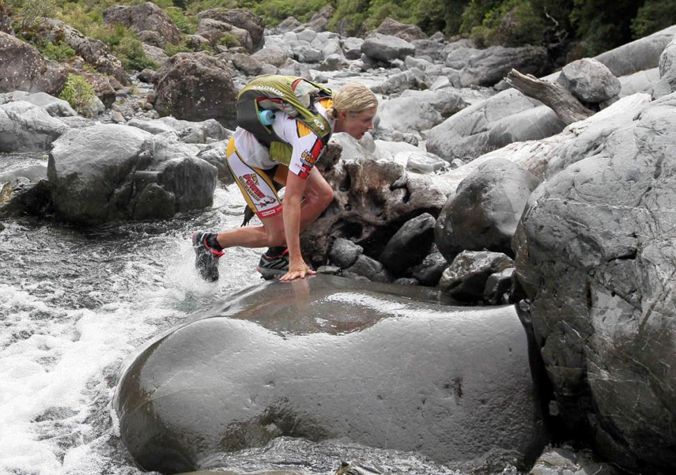 BOULDERS: Jess Simson Upper Deception River, Coast to Coast One Day Event.