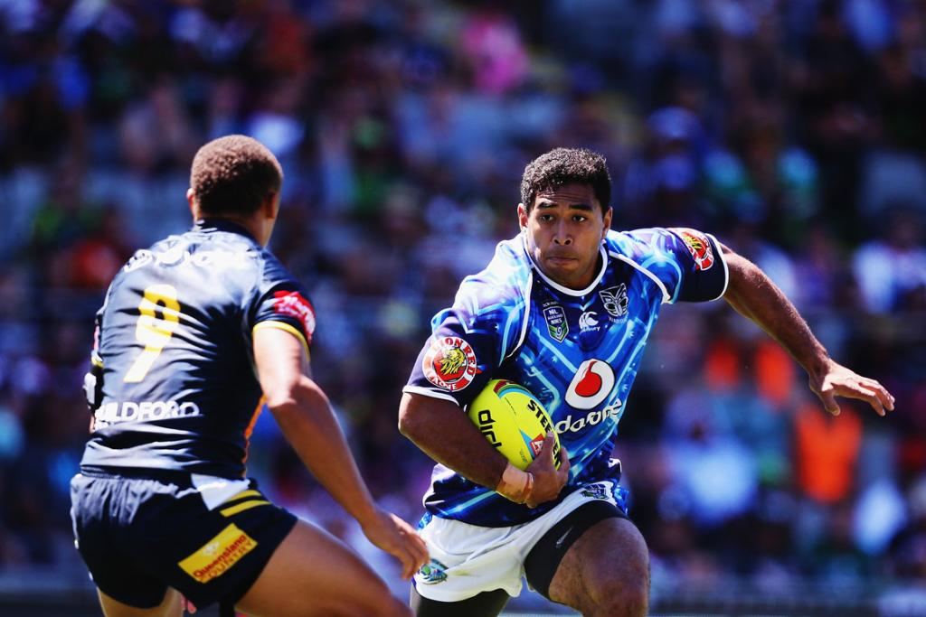 Auckland Nines on-field action