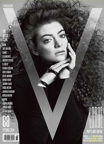GIVING FANS A BREAK: Lorde wants radio stations to drop her single Royals for a while.