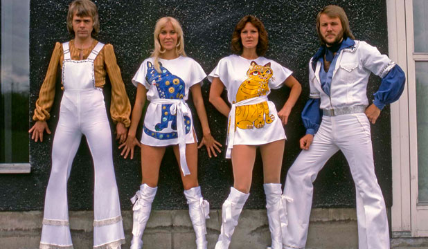 NUTS: Björn Ulvaeus  from the Swedish group Abba says he and his bandmates looked like nuts.