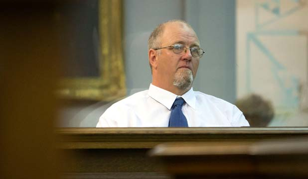 MARK LUNDY: Appearing at the High Court in Wellington today.