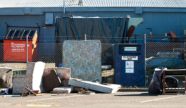 ILLEGAL DUMPING: The Palmerston North City Council plans to get tough on offenders.