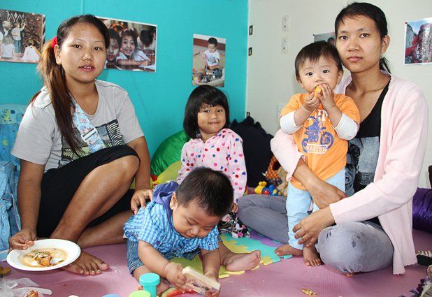 PLAY TIME: Former refugee mothers from Myanmar can send their children to a new playgroup project in West Auckland.