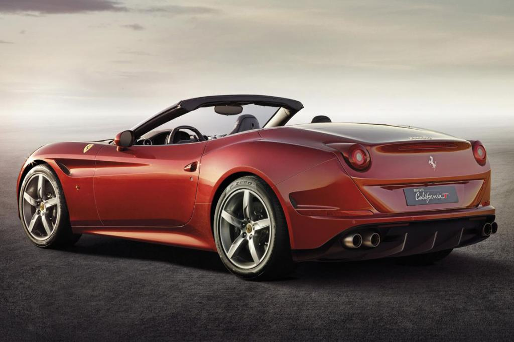 Ferrari's California T.