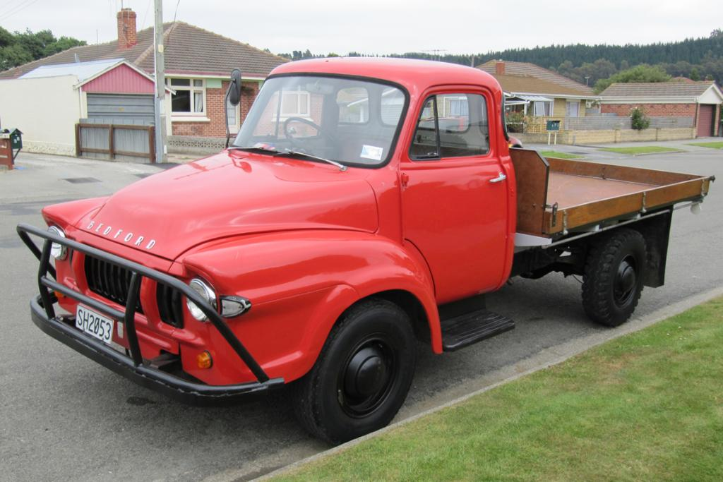 The 1967 Bedford J1 truck.