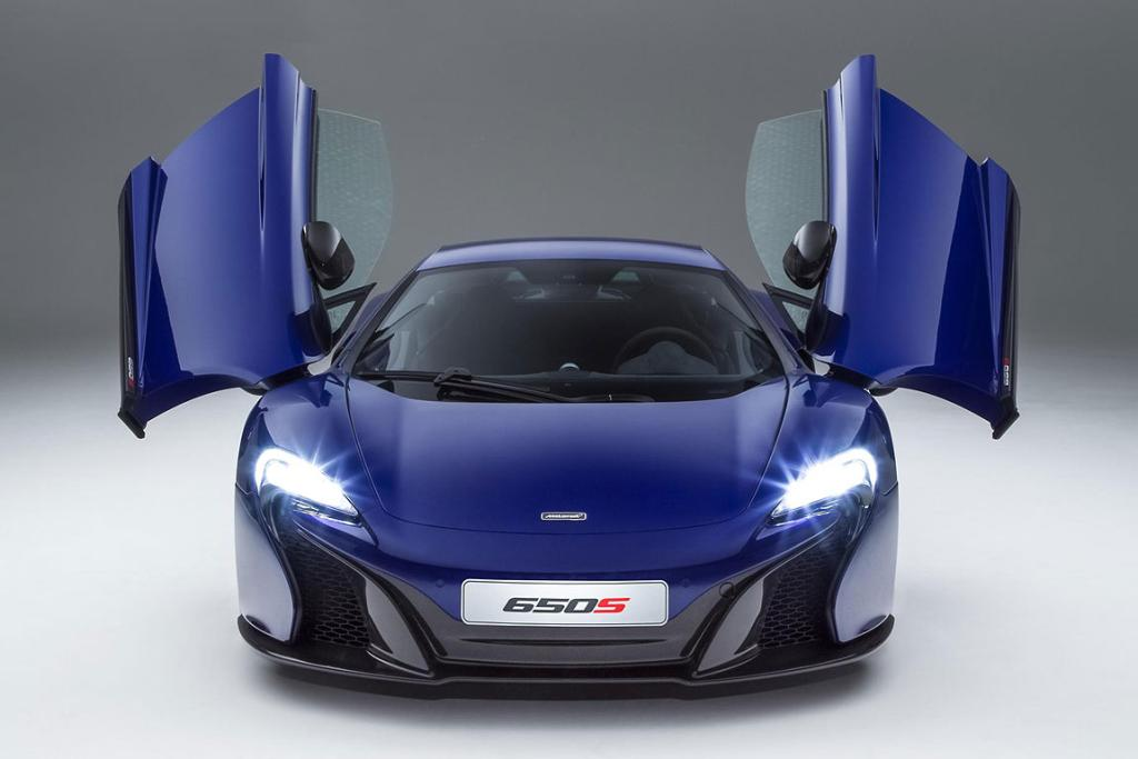 New McLaren supercar, the MP4-12C 650S.