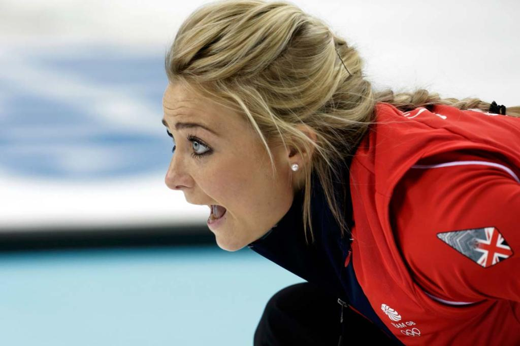 Britain's vice Anna Sloan asserts her position in the team.