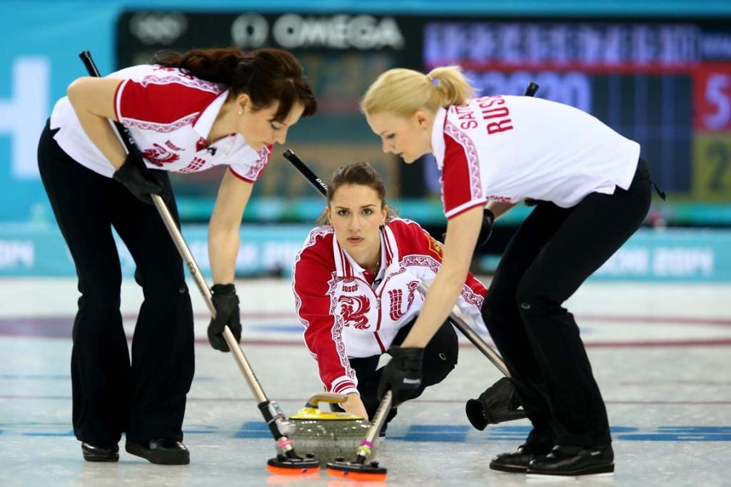 Russian women's curling
