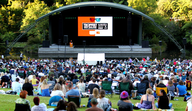 GOT IT SORTED: Taranaki hosted the second Tropfest New Zealand.