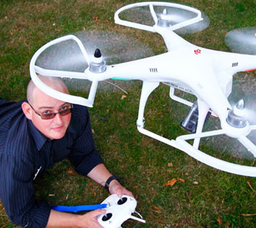 camera-equipped drones