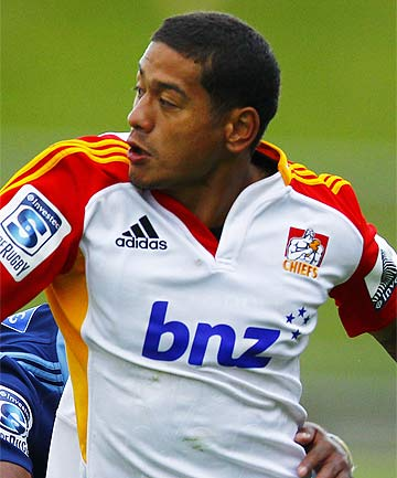 GOOD TO GO: Augustine Pulu will face the Crusaders.