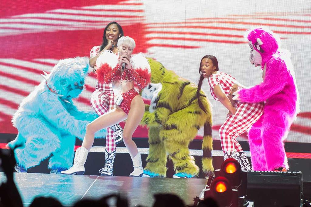 Miley's Bangerz Tour