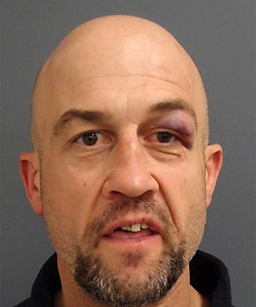 LOCATED: Police had been hunting James Arthur Matthew William Brown, 47, after he allegedly assaulted his partner and claimed to have a gun in Cumnor Tce, Woolston.