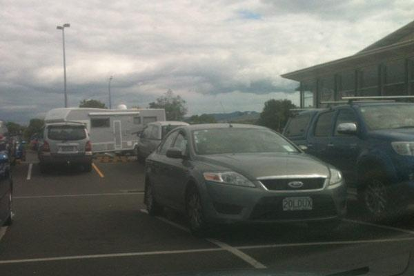 Hamilton, your parking is appalling