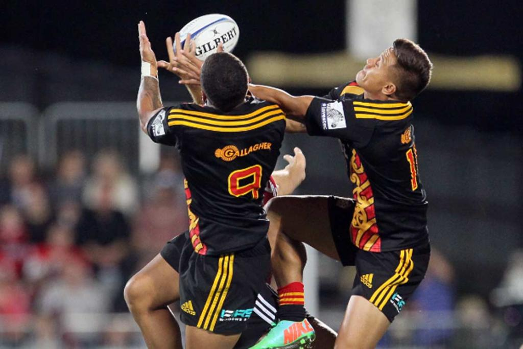 Augustine Pulu and Tim Nanai-Williams